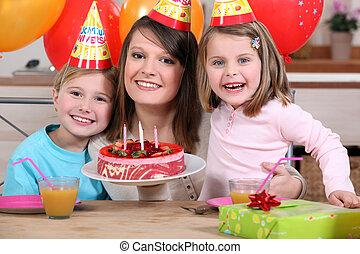el cumpleaños de niño