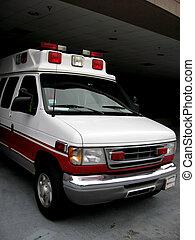 el emerger, ambulancia