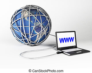 el, entero, mundo, es, conectado, a, el, wan