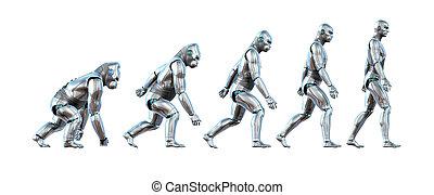 el, evolución, de, tecnología