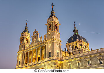 el, famoso, almudena, catedral