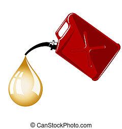 el gas puede