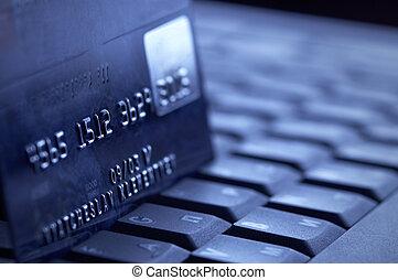 el hacer compras en línea