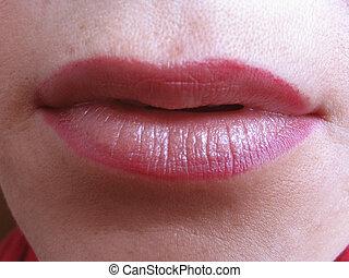 el, labios