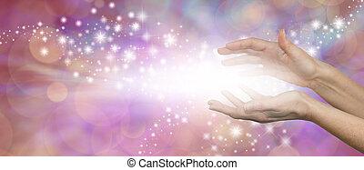 el, magia, de, curación