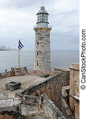 El Morro fortress with the city of Havana in the background