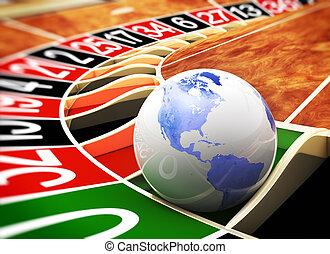 el mundo, es, un, casino