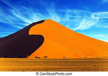 el, namib, desert.