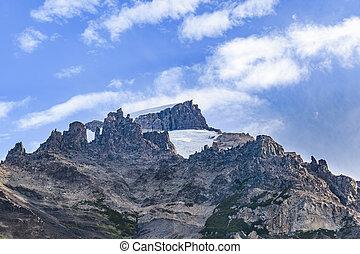 el, nevoso, patagonia, chalten, argentina, montañas