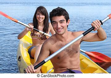el par kayaking