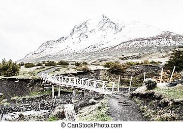 el, parque nacional, torres del paine, patagonia, chile