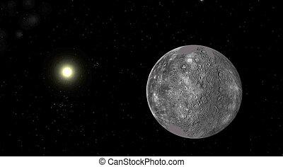 el, planeta, mercurio