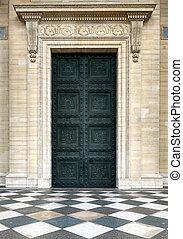 el, puerta