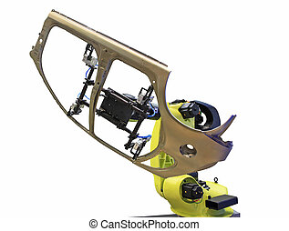 el, robot industrial