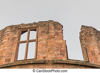 el, ruina, torre, de, castillo de heidelberg, en, heidelberg