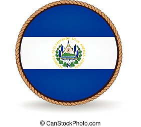 El Salvador Seal - Flag seal of El Salvador.