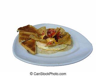 El Salvadorian breakfast - This is a photo of an El...