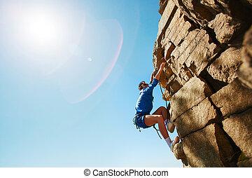 el subir roca