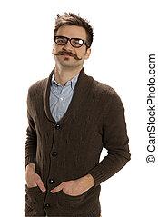 el suyo, hipster, bolsillos, manos
