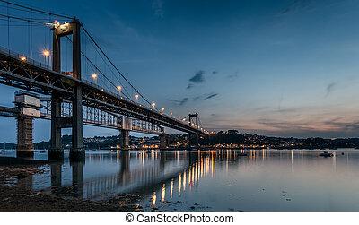 el, tamar, puente