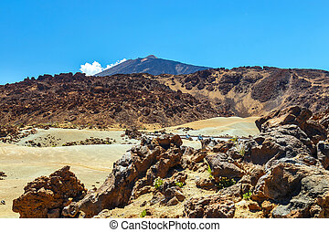 El Teide Volcano in Tenerife, Canary Islands, Spain