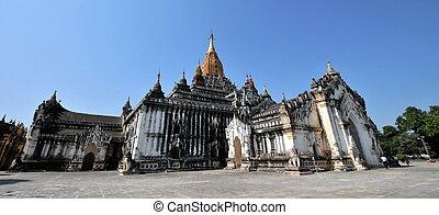 el, templos, de, bagan