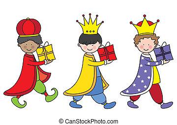 el, tres, reyes