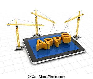 elaboración, apps