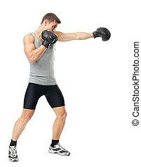 elaboración, boxeador, puñetazo