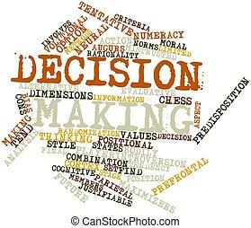 elaboración, decisión