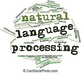 elaborazione, naturale, lingua