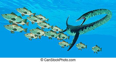 Elasmosaurus Ocean Hunt