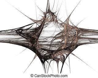 elastic fibres - beautiful abstract backdrop with very high...