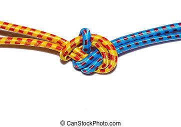 Elastic straps rope