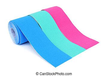 elastic therapeutic tapes - some rolls of elastic...