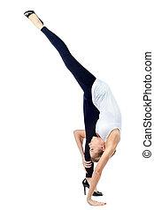 elastyczny, yoga
