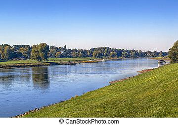 Elbe river, Germany