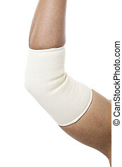 fracture arm - Elbow Bandage Support in a fracture arm