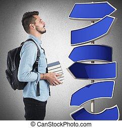 eldöntetlen, diák