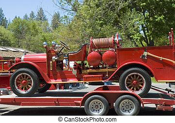 eld, 1, gammal lastbil