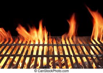 eld, barbecue grilla