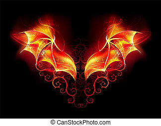 eld, påskyndar, drake