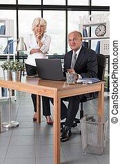 Elder business partners