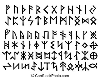 Elder Futhark and Other Runes. Elder Futhark (the first 24 main letters from above) is the general Runic characters used all over Northern Europe till the XIII century. Other Runes used in various orders in the rest regions later.