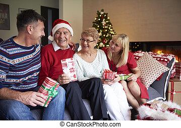 Elder generation of the family