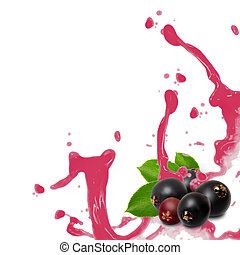 Elderberry splash