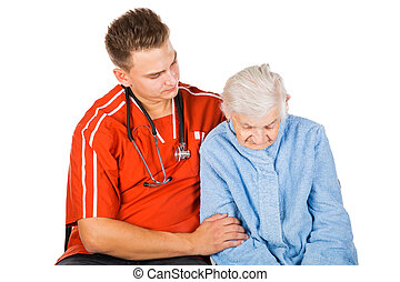 Elderly care at home