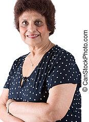 Elderly East Indian Lady