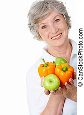 Elderly female
