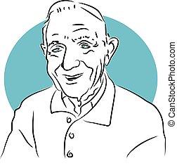 Elderly Gent - oap